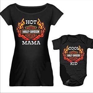 Harley Davidson Mommy n Me Set